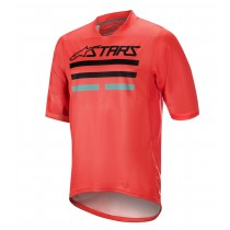 Alpinestars mesa v2 maillot de cyclisme à manches courtes bright rouge