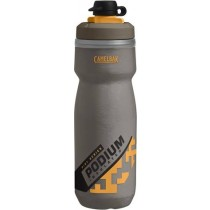 Camelbak podium chill dirt series geïsoleerde bidon 600ml shadow grijs sulphur