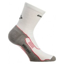 CRAFT Warm Bike Mid Sock White