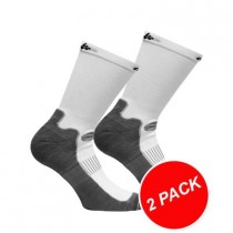 CRAFT Warm Training Sock 2-Pack White