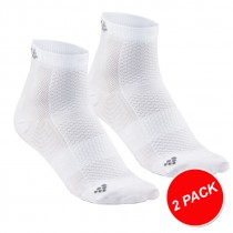 Craft cool mid chaussettes de cyclisme blanc (2-pack)