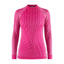 Craft active intensity CN sous-vêtement manches longues femme fantasy rose