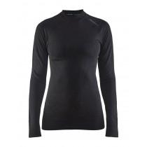 Craft active intensity CN sous-vêtement manches longues femme noir