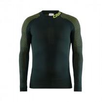 Craft warm intensity cn sous-vêtement à manches longues pine acid vert