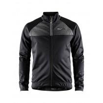 Craft rime veste de cyclisme noir argent reflective
