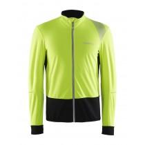 Craft verve wind maillot de cyclisme manches longues jaune noir