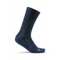 Craft warm mid chaussettes fjord trooper bleu