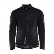 Craft aerotec gtx veste de imperméable gravel noir