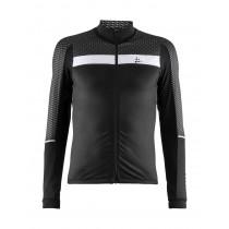 Craft route maillot de cyclisme manches longues noir blanc