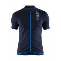 Craft rise maillot de cyclisme manches courtes blaze haven bleu