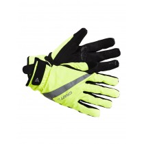 Craft rain gants de cyclisme 2.0 flumino jaune noir