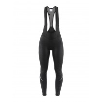 Craft ideal thermal cuissard de cyclisme long à bretelles femme noir (999999)