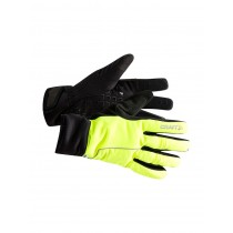Craft siberian 2.0 gants de cyclisme flumino jaune noir
