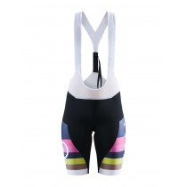 Craft Hale Glow Bib Shorts Lady  - Black/Fame
