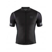 Craft hale glow maillot de cyclisme manches courtes noir