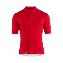 Craft essence maillot de cyclisme manches courtes bright rouge