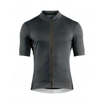 Craft essence maillot de cyclisme manches courtes rift gris