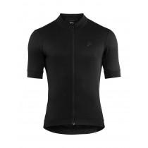 Craft essence maillot de cyclisme manches courtes noir