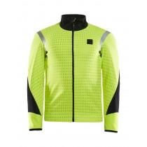 Craft hale subzero veste de cyclisme flumino p flexi jaune