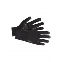 Craft all weather gants de cyclisme noir