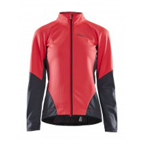 Craft ideal veste de cyclisme femme crush rose asphalt gris