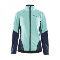 Craft ideal veste de cyclisme femme paradize blaze bleu