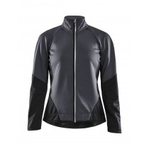 Craft ideal veste de cyclisme femme asphalt gris noir