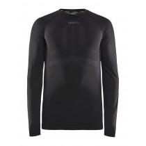 Craft active intensity cn sous-vêtement à manches longues noir asphalt