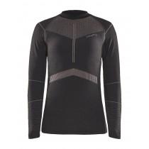 Craft active intensity cn sous-vêtement à manches longues femme asphalt touch gris