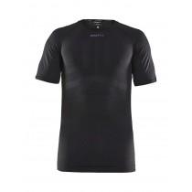 Craft active intensity sous-vêtement à manches courtes noir asphalt