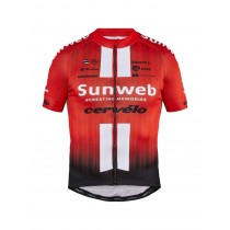 Craft team Sunweb replica maillot de cyclisme à manches courtes sunweb rouge