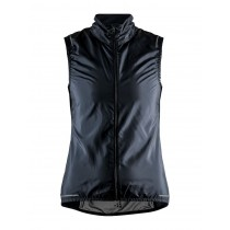 Craft Essence Light Wind Vest Lady  - Black