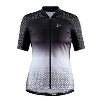 Craft Stride Jersey Lady  - Black/White