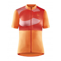 Craft Core Endur Logo Jersey W - Orange/Red