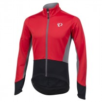 Pearl izumi elite pursuit softshell veste de cyclisme rouge