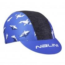 Nalini vulcano fietspet blauw haai