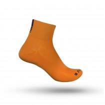 GripGrab lightweight sl short chaussettes de cyclisme hi-vis orange