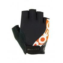 Roeckl bellavista gant de cyclisme noir orange