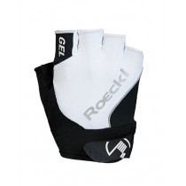Roeckl illano gant de cyclisme blanc noir