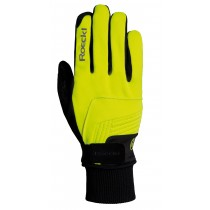 Roeckl rebelva gant de cyclisme neon jaune