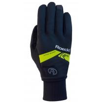 Roeckl villach gants de cyclisme noir jaune