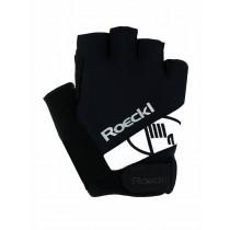 Roeckl Fietshandschoen Nizza - Black/White