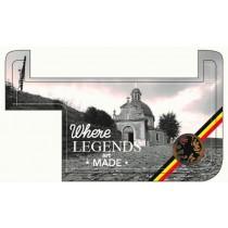 Pocpac 3X couverture de smartphone lion of flanders