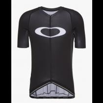 Oakley icon 2.0 maillot de cyclisme à manches courtes blackout noir