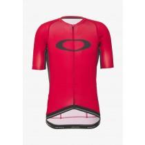 Oakley icon 2.0 maillot de cyclisme à manches courtes high risk rouge