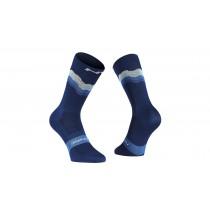 Northwave switch chaussettes de cyclisme bleu