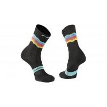 Northwave switch chaussettes de cyclisme noir rainbow