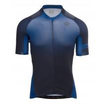 Agu gradient maillot de cyclisme manches courtes rebel bleu