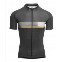 Agu six6 classic maillot de cyclisme manches courtes iron gris
