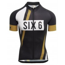 Agu six6 pnsc maillot de cyclisme manches courtes noir